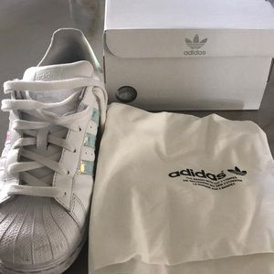 9ddc76ea34f79b adidas Shoes - Adidas Holographic Tennis Shoes (Authentic)